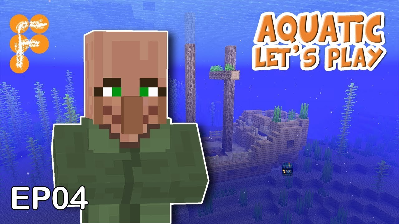 Let39s-Play-Aquatic-EP4-Villager-Farm