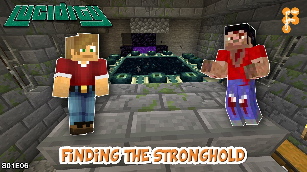 Lucidity-FINDING-THE-STRONGHOLD-with-ZIXXTER-Minecraft-1.15.1-EP6