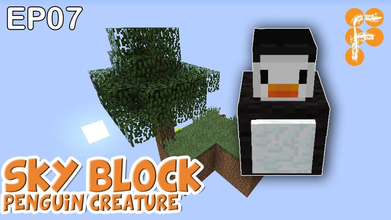 MineSaga-SkyBlock-1.0-EP7-Penguin-Creature