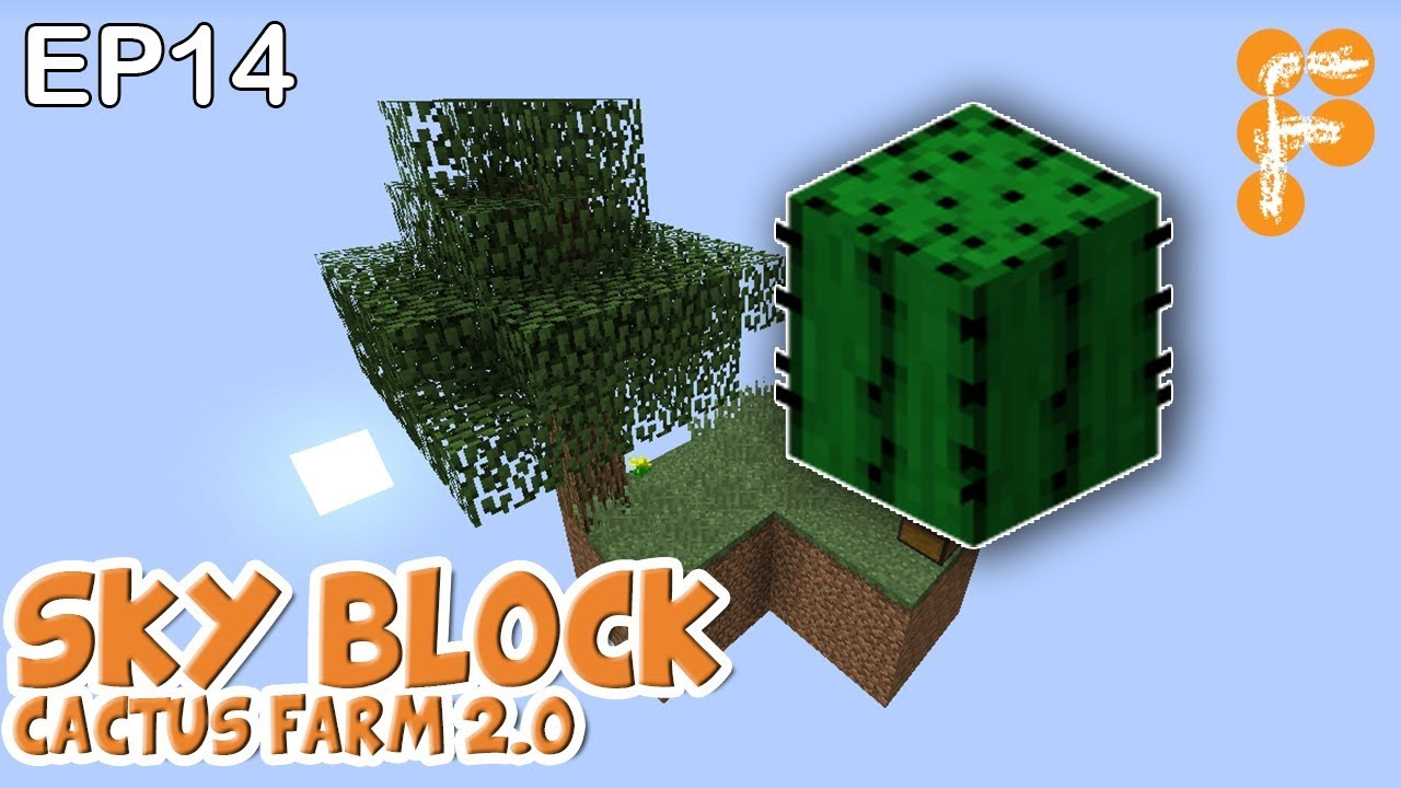 MineSaga-SkyBlock-1.0-S1E14-Cactus-Farm-2.0