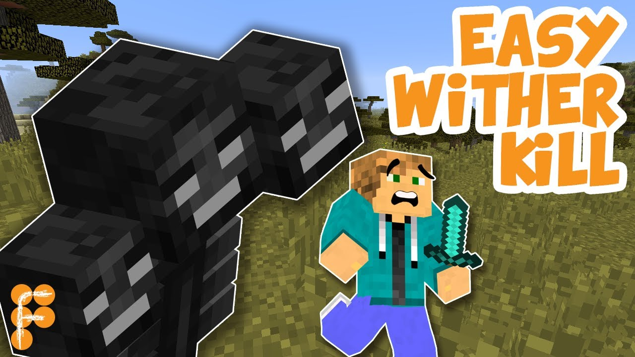 Minecraft-Best-way-to-Kill-a-Wither.-100-Safe-Under-10-seconds