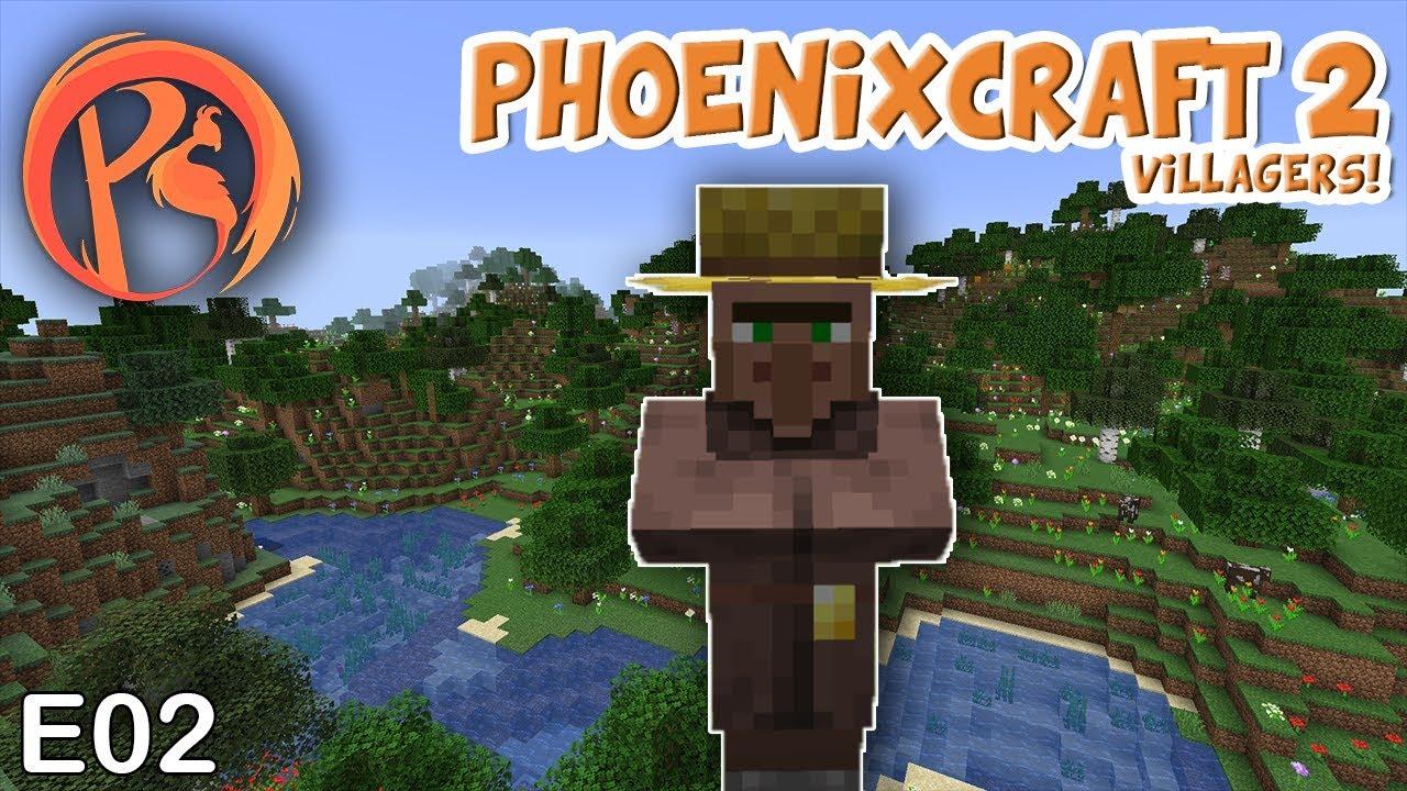 Phoenixcraft-2-E02-Villager-Breeder