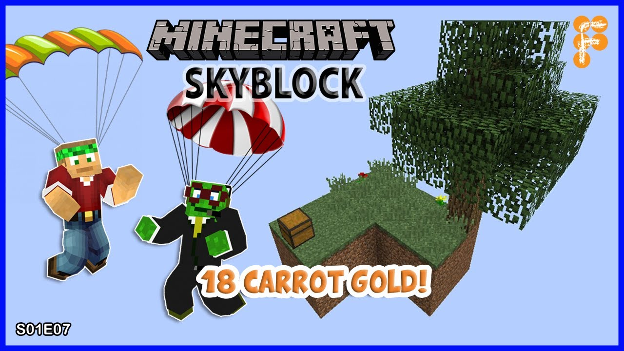 Skyblock-With-BobertPickle.-AUTOMATIC-CARROT-FARM-Minecraft-1.15.2-EP7