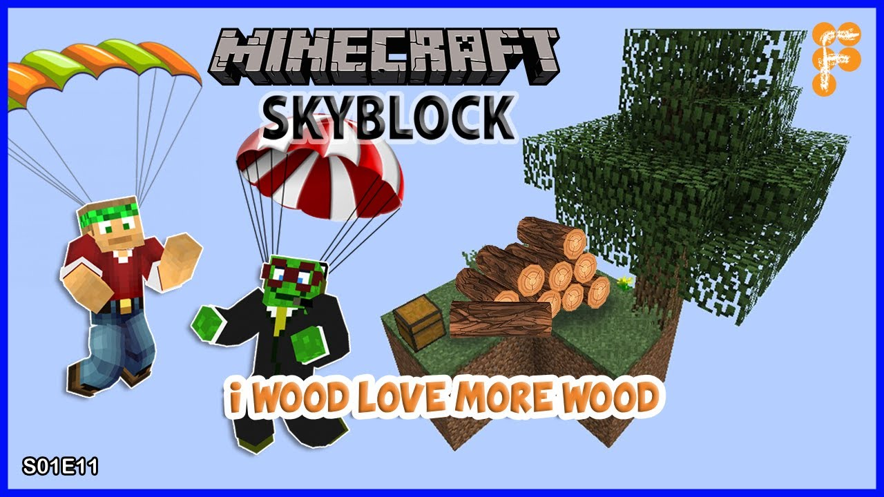 Skyblock-With-BobertPickle.-WE39VE-GOT-WOOD-AND-LOTS-OF-IT.-Minecraft-1.15.2-EP11