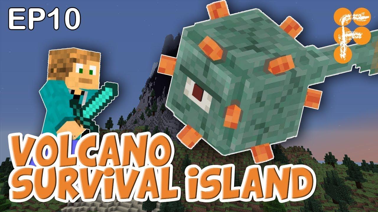 Volcano-Survival-Island-EP10-Lets-play-Minecraft-Survival