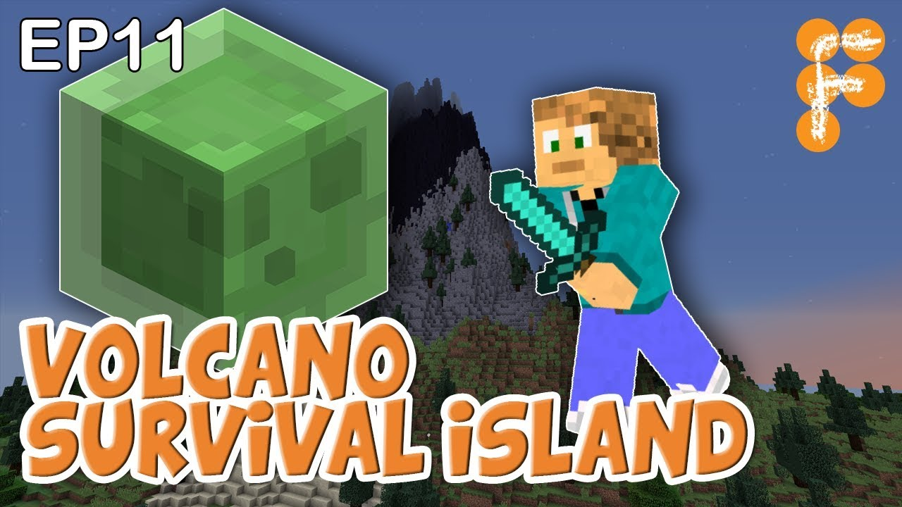 Volcano-Survival-Island-EP11-Worst-Slime-Farm-Ever