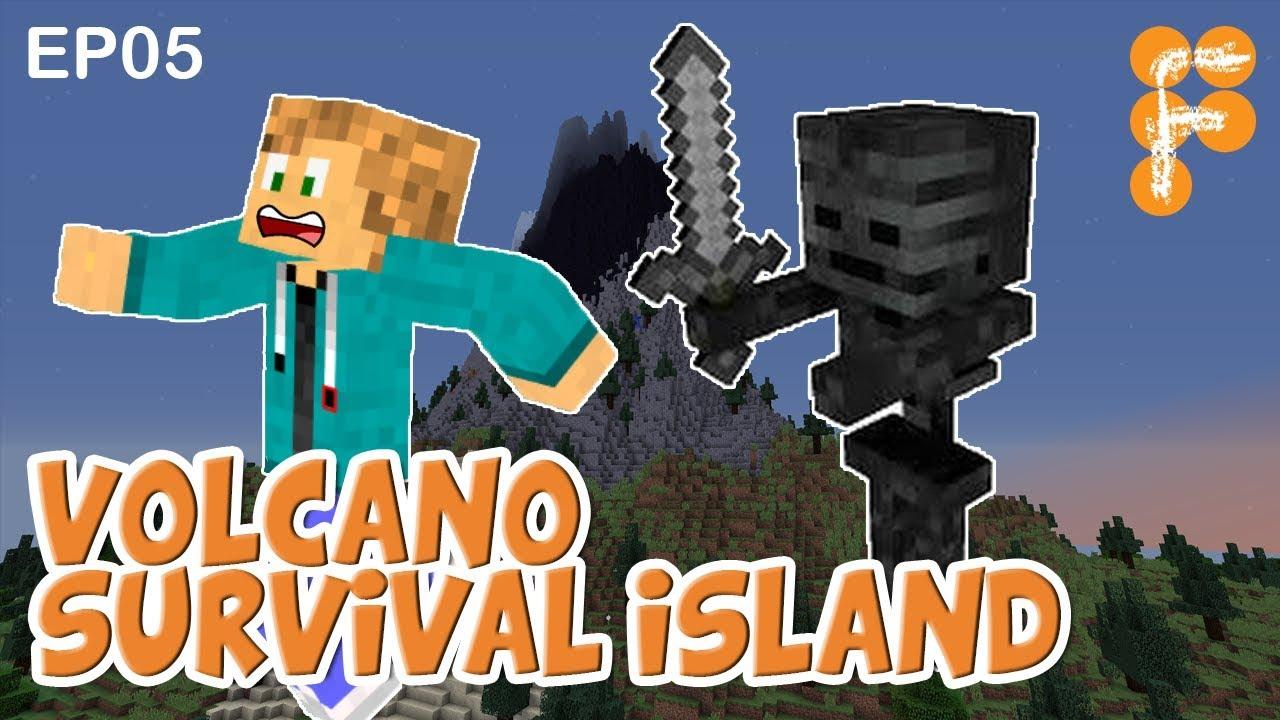 Volcano-Survival-Island-EP5-Let39s-Play-Minecraft-Survival