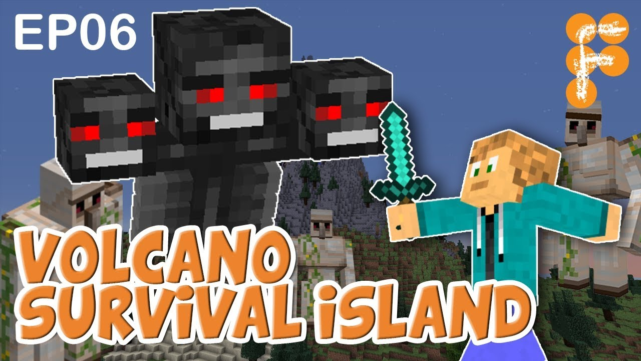 Volcano-Survival-Island-EP6-Lets-play-Minecraft-Survival