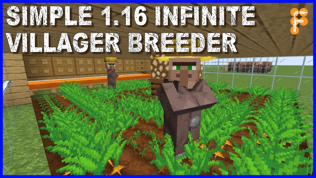 How-to-make-Super-Easy-1.16-Infinite-Villager-Breeder-Minecraft-1.14-Tutorial