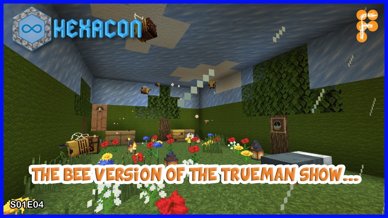 Hexacon-THE-BEE39S-AND-THE-LOGS.-Minecraft-1.16.1-S01E04