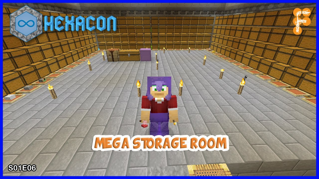 Hexacon-MEGA-SMART-STORAGE-and-400-CHICKENS-vs-1-WITHER.-Minecraft-1.16.1-S01E06