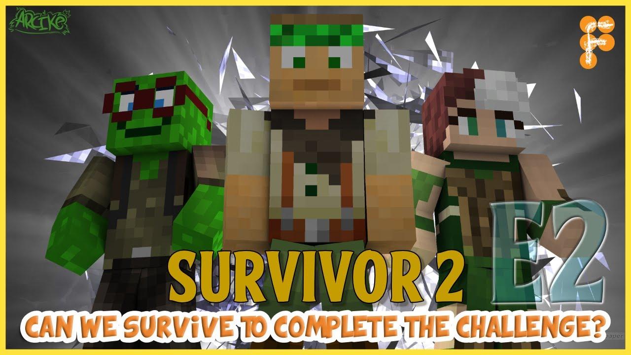 HEADING-TO-GREENER-PASTURES-Survivor-Ultra-Hardcore-2-Day-2-Minecraft