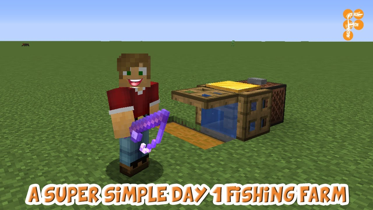 Tutorial-Super-simple-Day-1-Fishing-Farm-for-Minecraft-1.14-Not-guaranteed-on-modded-servers_a2bd7362